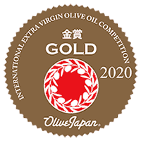 Gold Medal for Quality awarded in Tokyo by the Olive Japan® 2020 International Olive Oil Competition.
